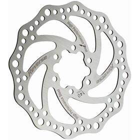 Reverse Stål Bromsskiva 6-hål silver